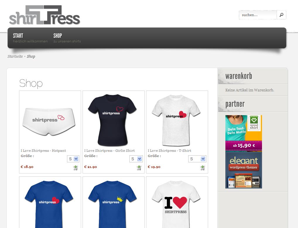 Shirt design wordpress plugin - Description Shirtpress Is A Wordpress Plugin