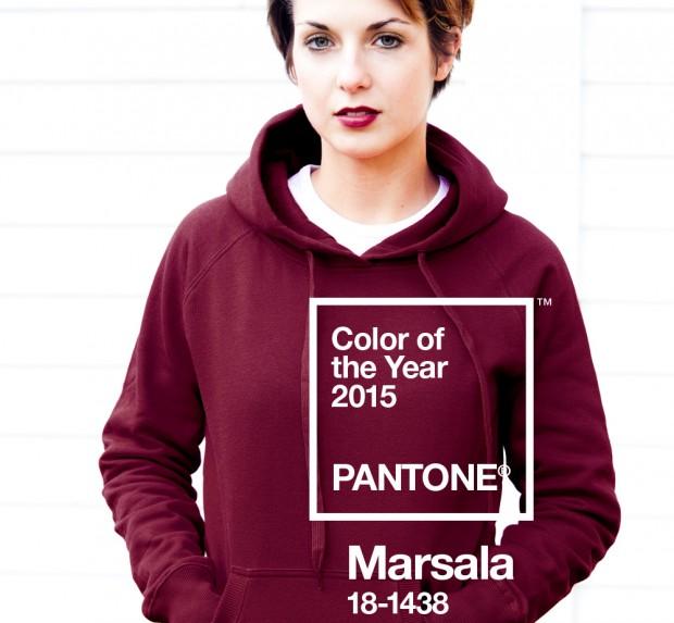 pantone trendcolor marsala