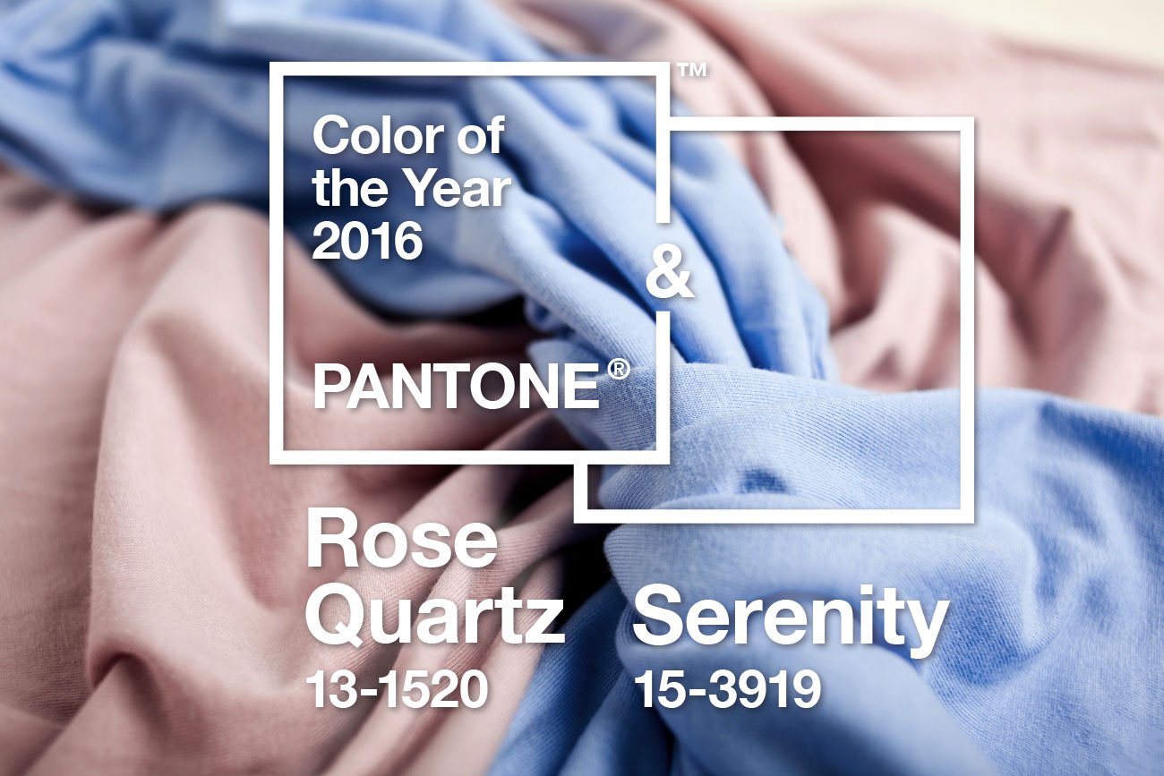 pantone trendfarben 2016 rose quartz und serenity. Black Bedroom Furniture Sets. Home Design Ideas