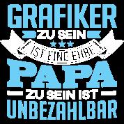Grafiker und papa t shirt spreadshirt for Job grafiker
