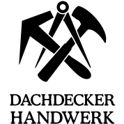 dachdecker handwerk zunftzeichen logo symbol t shirt spreadshirt. Black Bedroom Furniture Sets. Home Design Ideas