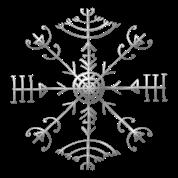 veldismagn gl ck schutz symbol island t shirt. Black Bedroom Furniture Sets. Home Design Ideas