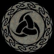odin horn keltischer knoten viking symbol t shirt. Black Bedroom Furniture Sets. Home Design Ideas