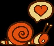 Herz Schnecke Liebe Love Paar Freunde Valentinstag