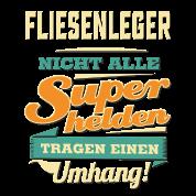 Fliesenleger lustig  Superhelden Umhang - Fliesenleger - RAHMENLOS Beruf Job Arbeit ...