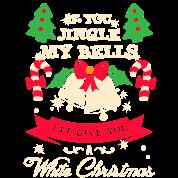 weihnachten geschenk jingle bells white christmas tank top spreadshirt. Black Bedroom Furniture Sets. Home Design Ideas