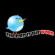 bird is the word von tomsan spreadshirt. Black Bedroom Furniture Sets. Home Design Ideas