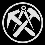 Dachdeckerzeichen  Dachdecker Zunft Zeichen Mütze | Spreadshirt