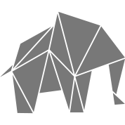 origami sanfter riese elefant hoodie spreadshirt. Black Bedroom Furniture Sets. Home Design Ideas