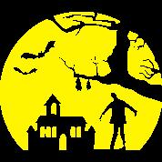 zombie walker halloween mond nacht kost m t shirt. Black Bedroom Furniture Sets. Home Design Ideas