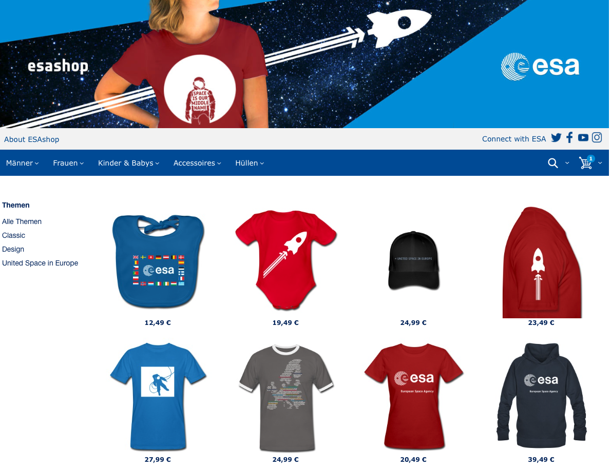 Europ Weltraumorganisation
