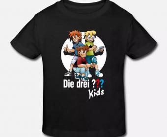 T-Shirt Kinder Spreadshirt bedruckt drei ???