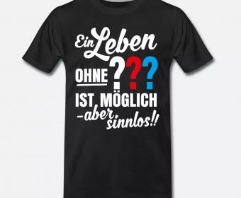 T-Shirt Herren drucken Spreadshirt 3 ???